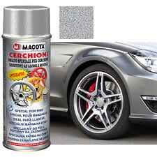 Vernice per cerchi cerchioni Alluminio 400ml MACOTA antigraffio smalto acrilico