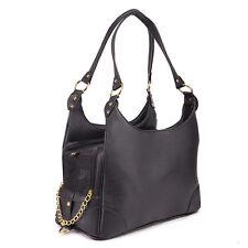Foldable Black Dog Carrier Tote Handbag Travel Outdoor Shoulder Bag Small Pet