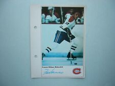 1971/72 TORONTO SUN NHL ACTION HOCKEY PHOTO FRANK MAHOVLICH SHARP!! TORONTO SUN