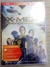 X-MEN PRIMERA GENERACION  BLU-RAY + DVD + COPIA DIGITAL  NUEVO A ESTRENAR