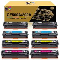 8X Toner Cartridge CF500A 202A Color for HP LaserJet Pro MFP M254dw M281fdw US
