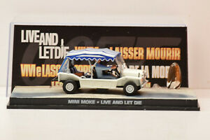 1//43 James Bond 007 Car collection-MINI MOKE VIVRE ET LAISSER MOURIR #24