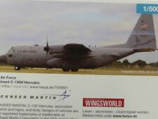1/500 Herpa U.S. Air Force Lockheed C-130H Hercules Nevada Air National Guard ..