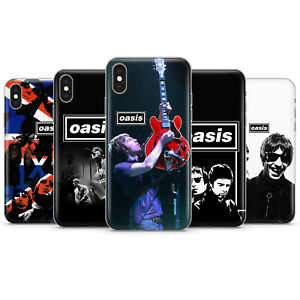 OASIS BAND LIAM & NOEL GALLAGHER PHONE CASES & COVERS FOR IPHONE 5 6 7 8 X 11 SE