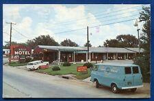 Kelly Motel Shamjrock Texas route 66 roadside postcard