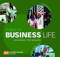 English for Business Life Elementary: Audio CD by Menzies, Pete|Badger, Ian (CD-