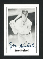 Joe Kuhel Autographed Signed Auto 1978 Grand Slam Card #194 Senators 165810