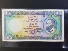 Macau 1984 100 Patacas Banknote UNC