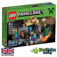 Lego Minecraft 21119 The Dungeon *BRAND NEW & SEALED *Free UK P&P