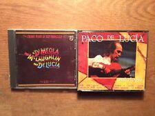Paco de Lucia [ 2 CD Album ] Friday Night in San Francisco / di MEOLA+ Antologia
