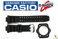 CASIO G-Shock G-1100B Original Black Rubber BAND & BEZEL Combo G-1500 G-1500B