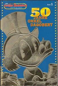 LTB Spezial Band 1: 50 Jahre Onkel Dagobert (Ehapa, 1. Auflage 1997) Z 2-3