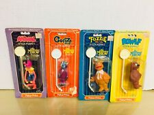1979 Fisher Price -the Muppet Show Stick Puppets -lot of 4. New -MISP