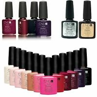 CND Shellac UV Gel Nail Polish - All Colours Base Coat and Top Coat Soak Off