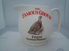 WADE PDM THE FAMOUS GROUSE WATER JUG - FINEST SCOTCH WHISKY (REFS 48/52)