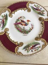 Vintage Myott Chelsea Bird Set Of 4 Bread And Butter Plates