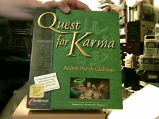 VINTAGE Quest For Karma BIG BOX(PC, 1998, Dreamcatcher Interactive) SEE PICS