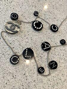 Chanel Acrylic Coco Necklace