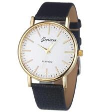 Women's Girls Watches Casual Leather Band Analog Quartz Alloy Wrist Watch Colors