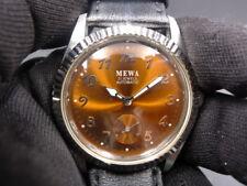New Old Stock - MEWA - Ambar Tone Face Automatic Auto Men Watch