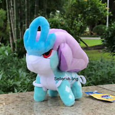 "Nintendo Pokemon Center Go Plush Toy Suicune 5.5"" Cute Stuffed Animal Poke Doll"