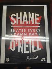 Nike SB Street League Poster- Shane O'Neill  -autographed!!!!
