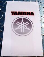 Yamaha Clear Tank Pad - Removable - R1 R6 R3 FZ1 FZ8 FZ6 FZ6R XJ6 MT09 MT07 FZ07