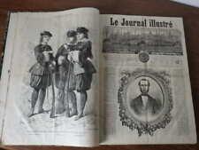 Genre L'Illustration :  LE JOURNAL ILLUSTRE 1864 Tete de Collection COMPLET