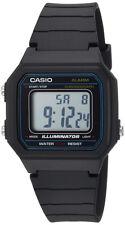 Casio Men's Digital Quartz Black Resin Watch W217H-1AV