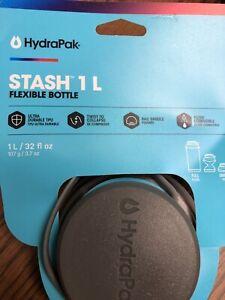 HydraPak Stash 1 L Flexible Bottle-32 Fl Oz