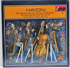 """""""Haydn: String Quartet Op. 76, No. 2 & No.5"""" Hungarian String Turnabout TV34012S"""
