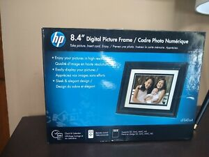 New HP 8.4 Inch LCD Digital Picture Frame