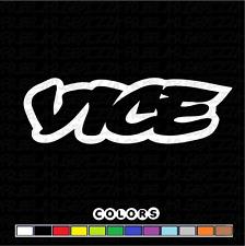 "VICE decal 6"" inch die cut sticker vinyl Subaru Honda Nissan Toyota Viceland CBD"