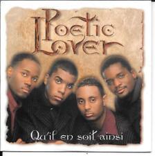 CD SINGLE 2 TITRES--POETIC LOVER--QU'IL EN SOIT AINSI--1997