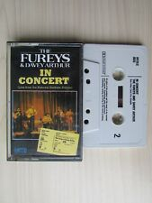 THE FUREYS & DAVEY ARTHUR IN CONCERT CASSETTE, RECORDED LIVE IN DUBLIN, TESTED.