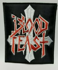 BLOOD FEAST EMBROIDERED PATCH
