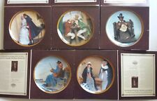 New Listing5 Edwin Knowles Collector Plates, Norman Rockwell's Colonials: Rarest Rockwells