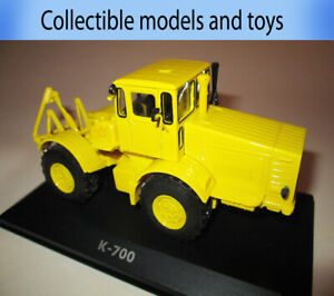 model Tractor 1: 43 K-700 USSR 1962, Hachette, casting, Tractor series