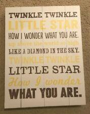 Twinkle Twinkle Little Star Nursery Print