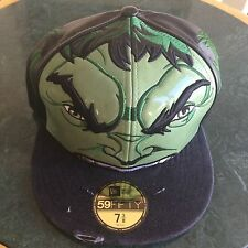 New Era Hulk Avengers 59FIFTY Cap Hat Size 7 3/8