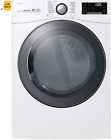 LG DLGX3901W 7.4 Cu. Ft. Smart Front Load 14-Cycle Gas Dryer with Steam - White photo