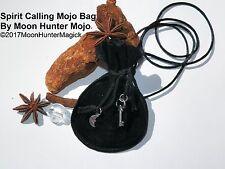 Spirit Calling Mojo Bag Money Charm Necromancy Ouija Charm Gris Gris Conjure