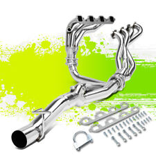 FOR 88-97 FORD F250/F350 7.5L V8 4-1 MID LENGTH EXHAUST HEADER MANIFOLD W/Y-PIPE