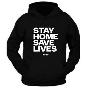 Stay Home Unisex Classic Tee Hoodie Hooded Sweatshirt