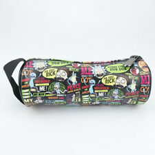 Cartoon Rick and Morty Pencil Case Cosmetic Bag For Anime Fan Gift waterproof N2