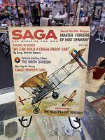 OCT 1961 SAGA vintage mens adventure magazine