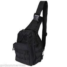 Men Backpack Molle Tactical Sling Chest Assault Pack Messenger Shoulder Bag