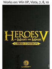 Heroes of Might and Magic V 5 Gold Edition PC Game &
