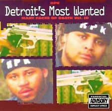 Many Faces of Death Vol. III by Detroit's Most Wanted    Brand New and Sealed