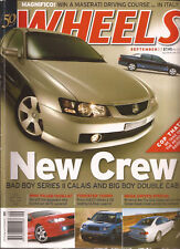 Wheels Sep 03 Crewman Forester Turbo M3 427C